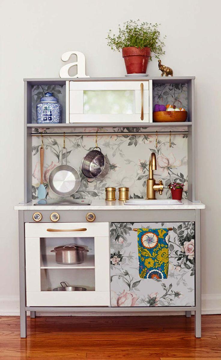 Decals for DUKTIG, Ikea, Vintage Roses Sticker Set, PACK