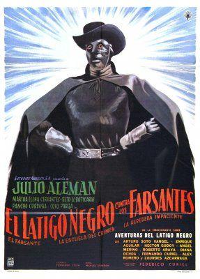 Black Whip Against the Impostors (El látigo negro contra los farsantes) (1962, Mexico)