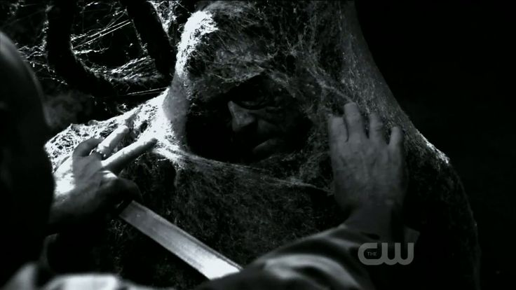 """""""Arachne"""" has become the generic name for spider-people in the horror genre, like this season 6 episode of Supernatural. The Arachne in this episode was male, but the name of the species is taken from the Greek myth."""