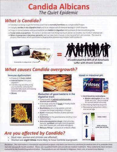 Candida Albicans Tear Pad