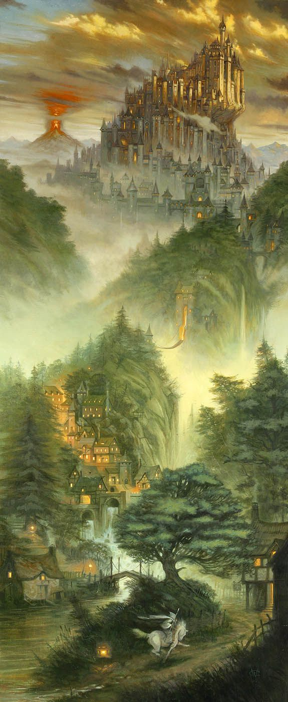 Race to Minas Tirith by William O'Connor