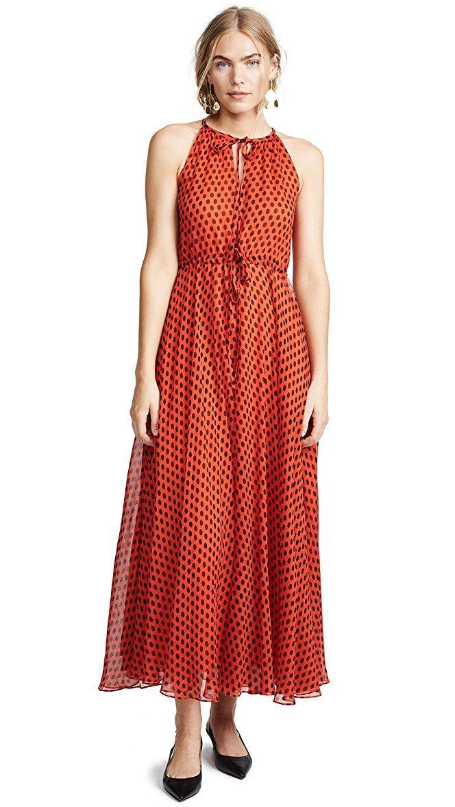100971824e5 Diane von Furstenberg Keyhole Maxi Dress