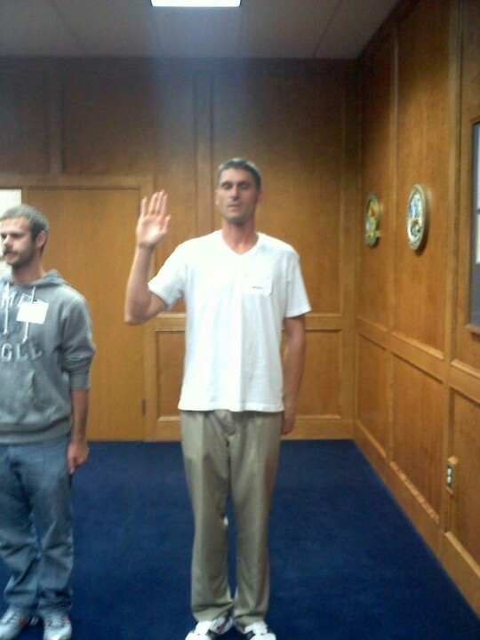 Philip's swearing in of the Army