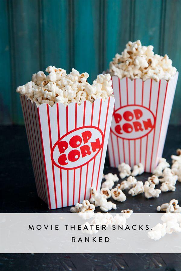 Movie Theater Snacks, Ranked   via @PureWow