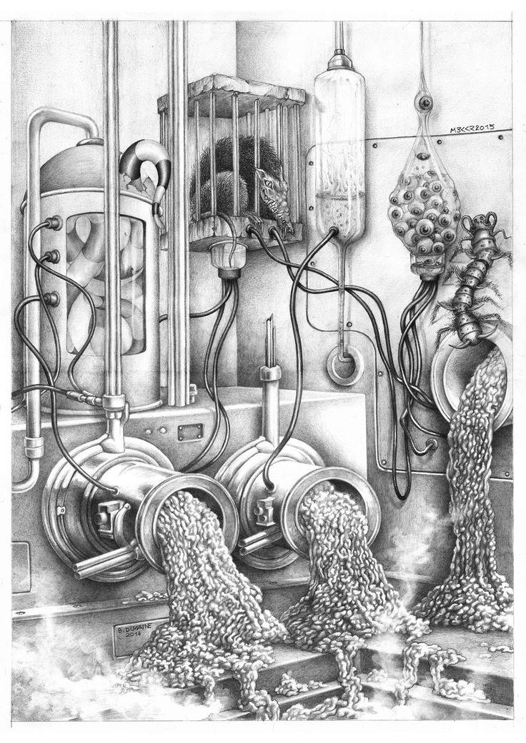 The insane meat factory by Bernardumaine.deviantart.com on @DeviantArt