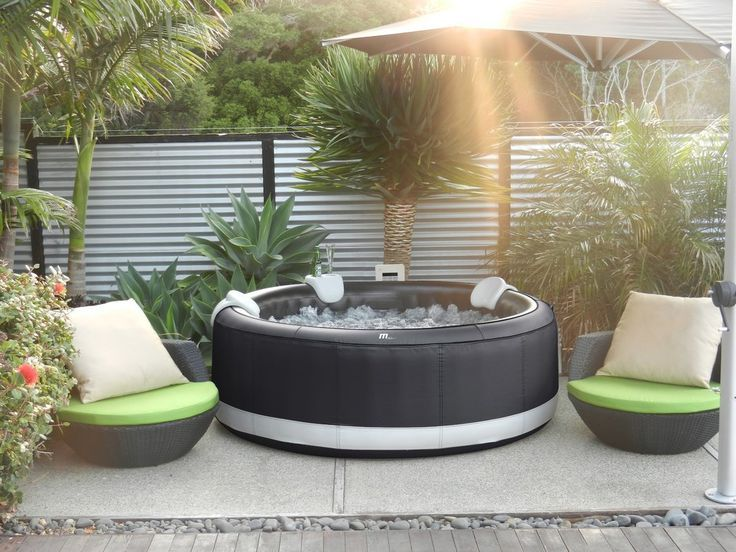 Test Du Spa Gonflable Intex A Bulles Rond Pure Spa Hot Tub Gazebo Hot Tub Shopping Spa Hot Tubs