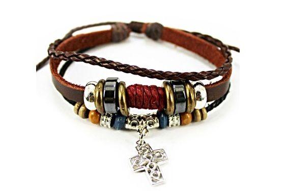 Skórzana bransoletka / leather bracelet [FashionCorner] -> Zitolo.com
