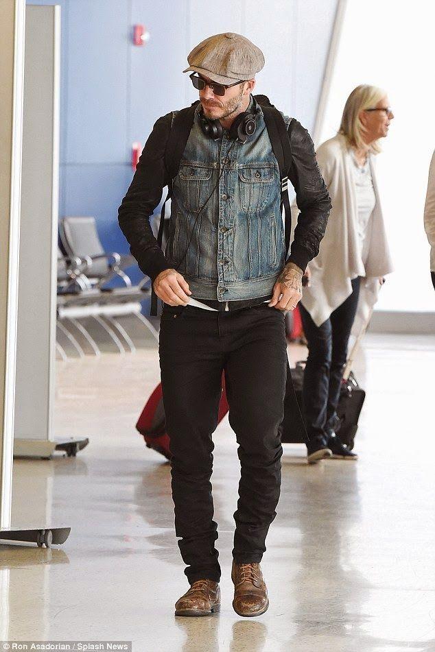 David Beckham Airport Style   Google Search