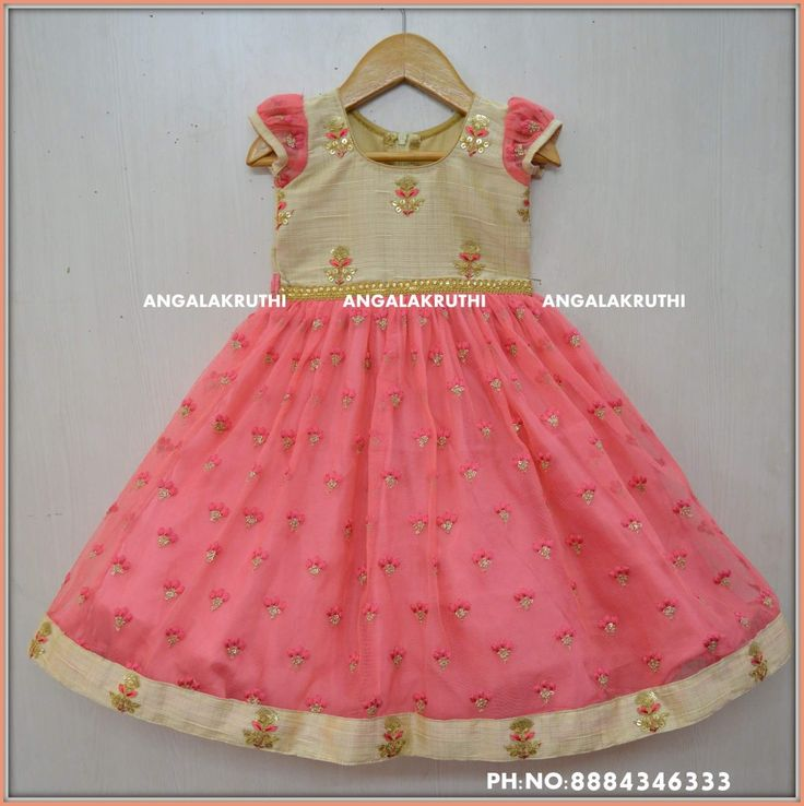 #Kids frock designs by Angalakruthi boutique Bangalore  #Kids Custom designer Boutique Bangalore  #Birthday party dress designs by Angalakruthi Party wear designs #Tradational kids frock designs