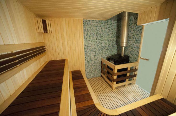 www.pirciuprojektai.lt / Our Team installed Sauna
