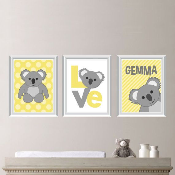 Hey, I found this really awesome Etsy listing at https://www.etsy.com/listing/182052948/koala-love-print-trio-baby-decor-kid