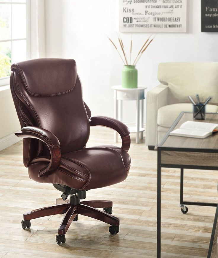 executive brown leather office chairs