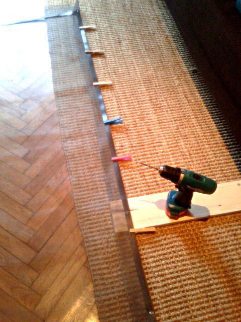 Magnet-Anwendungen  - Fliegengitter mit Magnetband - supermagnete