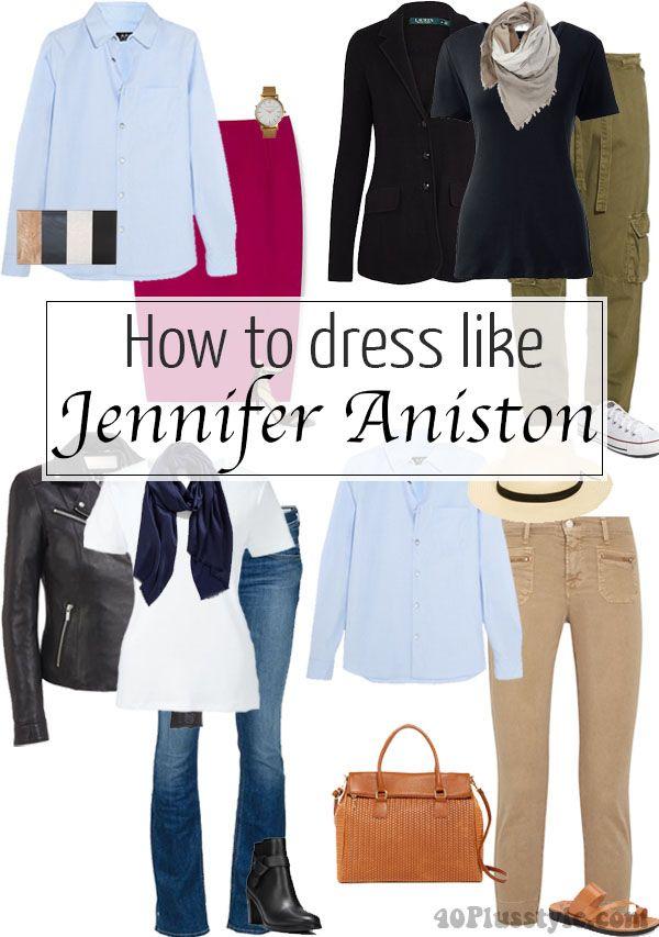How to dress like Jennifer Aniston | 40plusstyle.com