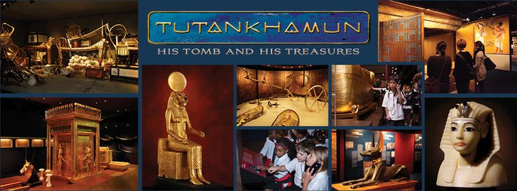 Tickets to the TUTANKHAMUN - His Tomb and His Treasures Exhibition are now on sale. This impressive collection of the Pharoahs treasures offers a glimpse into the splendour of his life.  Wonderful opportunity for children and adults alike.