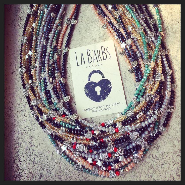 Infinite Mini Perle ...  Cuori Stelle Civette ❣ #labarbspadova #bbigiotteria #bigiotteria #fattoamano #handmade #padova #padovaalfemminile