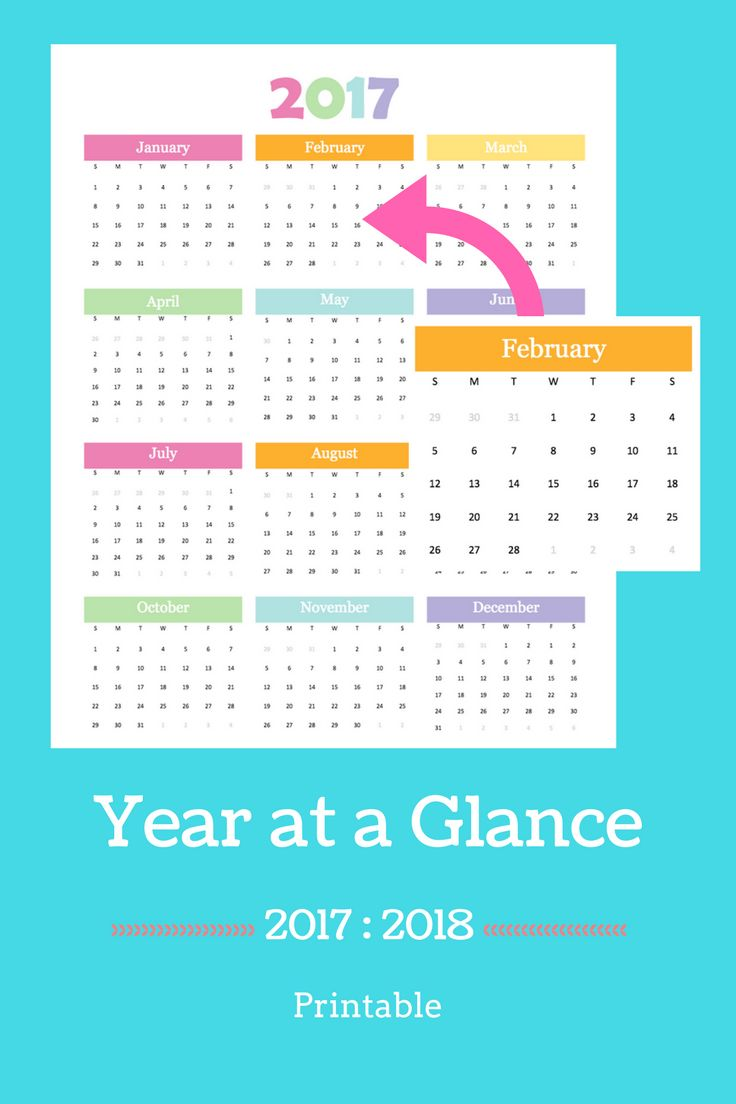 day at a glance calendar template - 1000 ideas about printable yearly calendar on pinterest