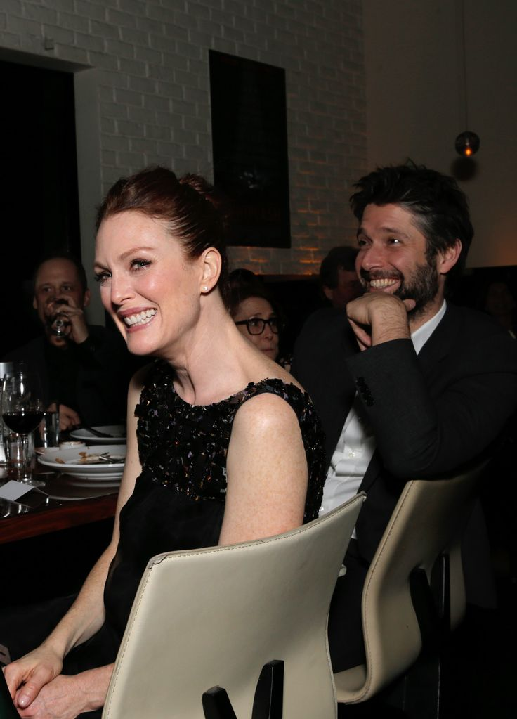 Sony Oscars pre-party with Julianne Moore and Mark Ruffalo.  Is it their year?  Photo: Todd Wlliamson, AP/Invision