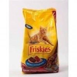 kedilerin sevdiği lezzet friskies kedi mamaları.