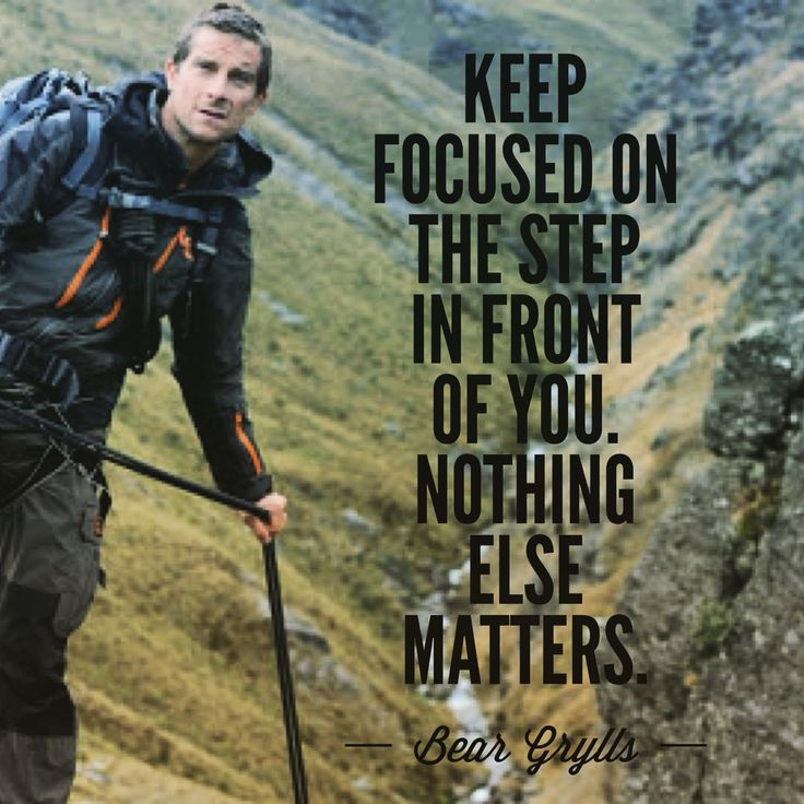 Inspirational Survival Quotes: 72 Best Bear Grylls Quotes Images On Pinterest