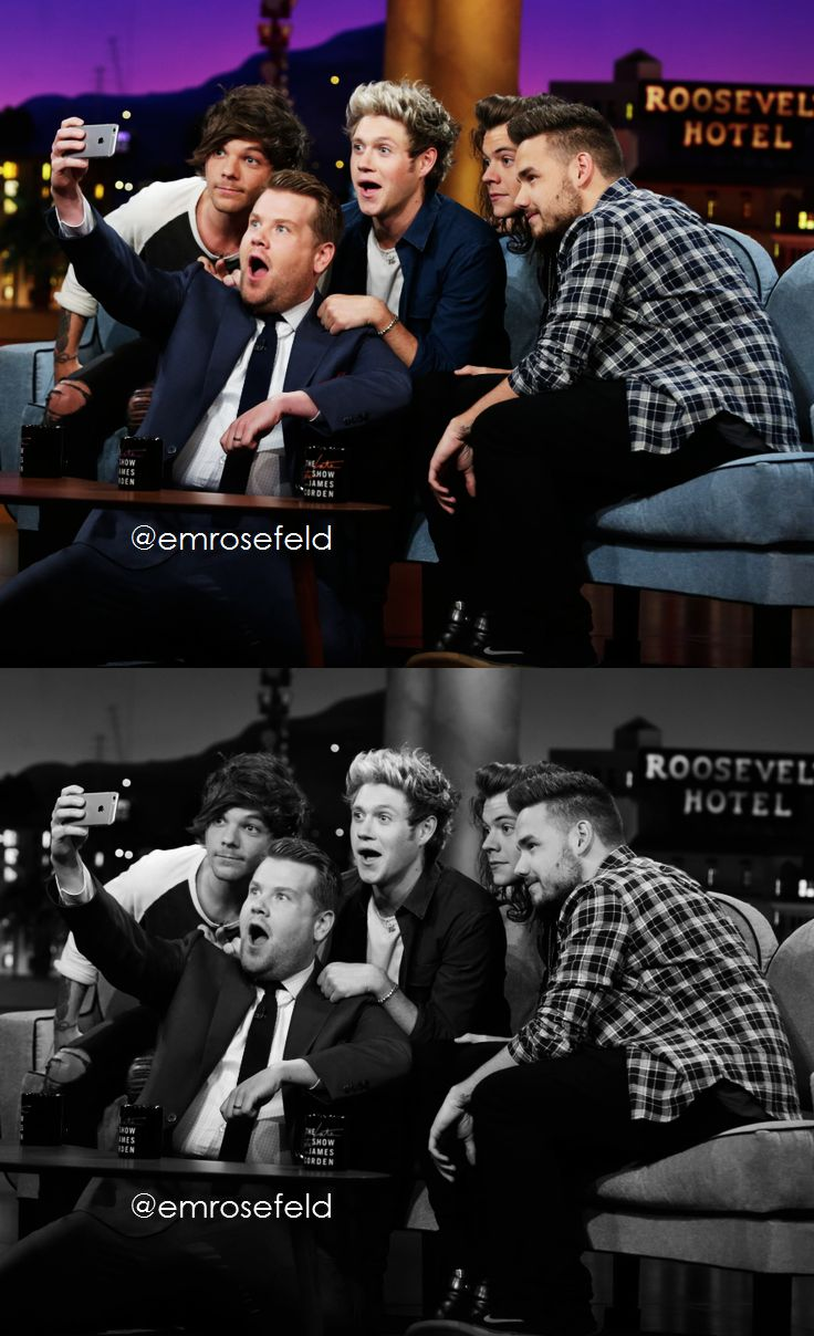 One Direction | on The Late Late Show with James Corden 5.14.15 | @emrosefeld |