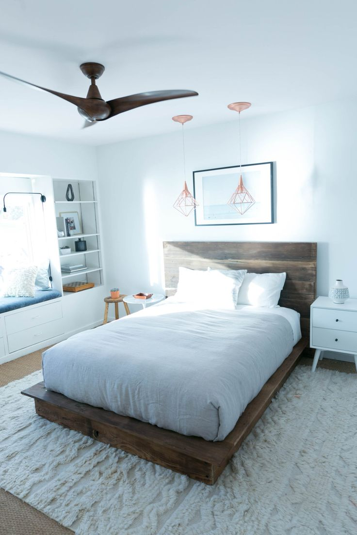 DIY Reclaimed Wood Platform Bed | Diy platform bed and Blog