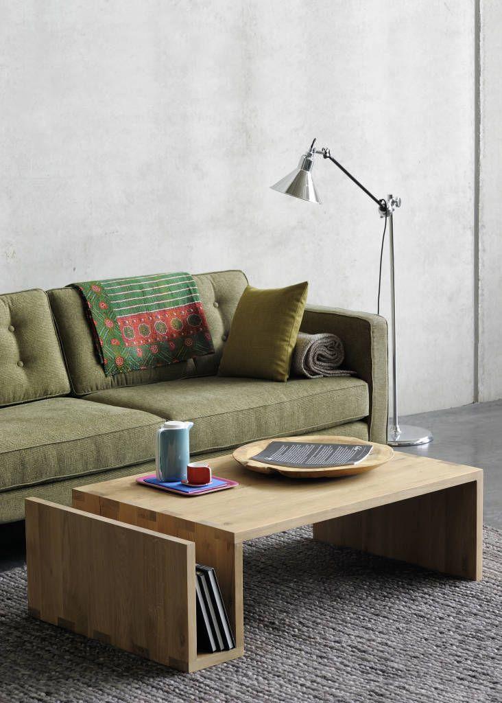 Busca imágenes de diseños de Salas estilo escandinavo}: Oak Naomi Coffee Table. Encuentra las mejores fotos para inspirarte y y crear el hogar de tus sueños.
