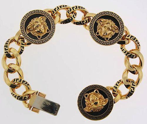 Gold Versace Bracelet