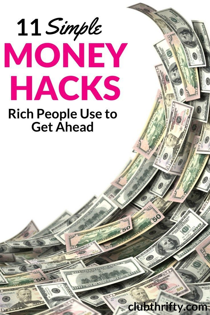 Ever wonder how rich people get ahead? Feel like you're missing something? Here are 10 simple money hacks rich people use to build and keep wealth!