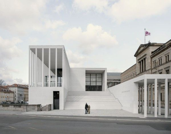 David Chipperfield The James Simon Galerie Berlin David Chipperfield Architects Museum Architecture Architecture