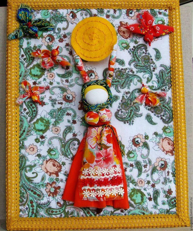 """кукла """" Масленица"""" панно – купить в интернет-магазине на Ярмарке Мастеров с доставкой"""