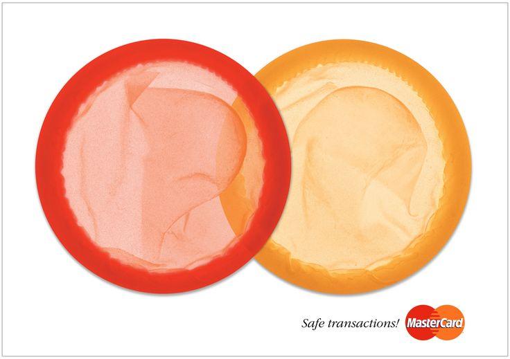 MasterCard - Print ad. Safe transactions