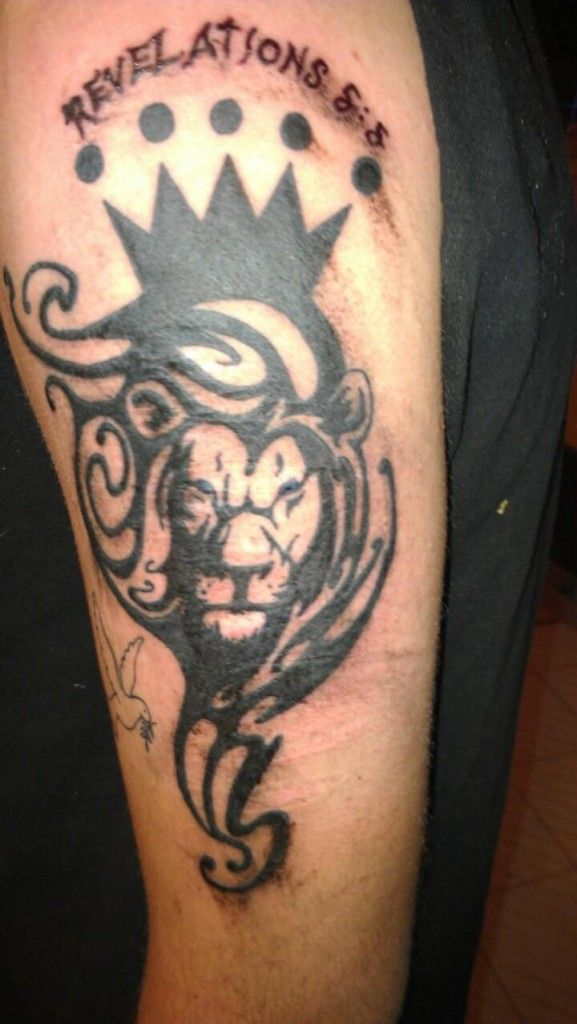 christian tattoos of the tribe of judah d