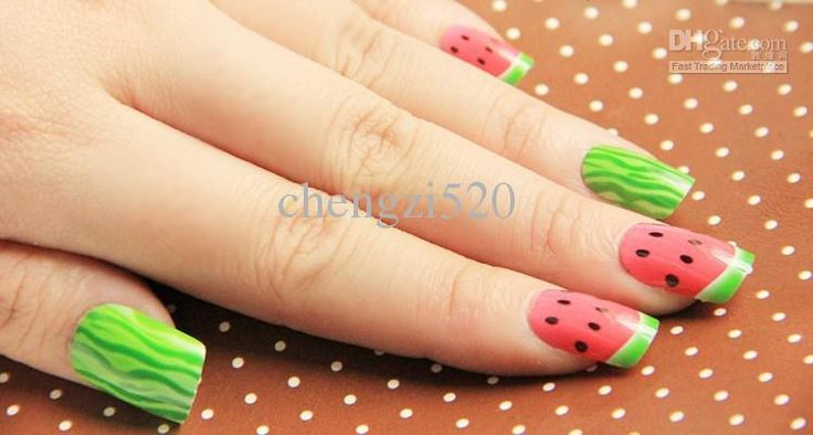 17 best images about food nail art on pinterest for Acrylic nail salon nyc
