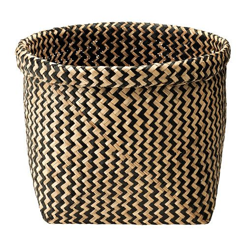 IKEA Fan Favorite: MAGGA hand-woven, seagrass basket. Beautiful and perfect for adding extra storage to your living room or hallway.