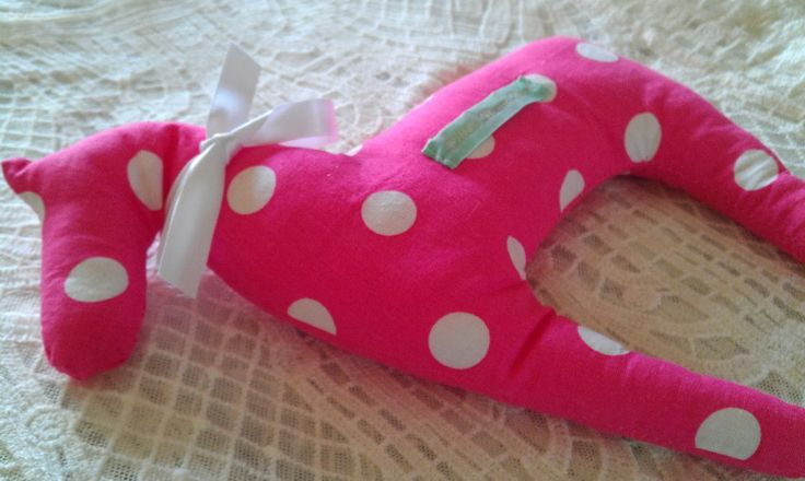 Polka dot horse home accessory