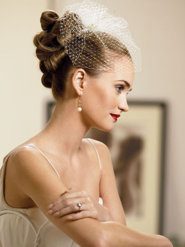 Choosing A Wedding Hairstyle To Match Your Wedding Theme Bride