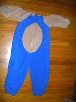 The Urban Domestic Diva: How to Make your kid a Sonic the Hedgehog Costume