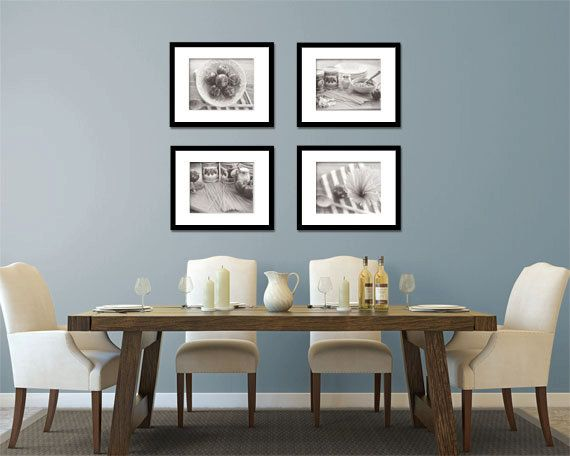 Food Photography - Kitchen Art - Italian - Set of Four (4) Black & White Photos - Fine Art Photography Prints - Kitchen/Dining Room Decor on Etsy, $80.00