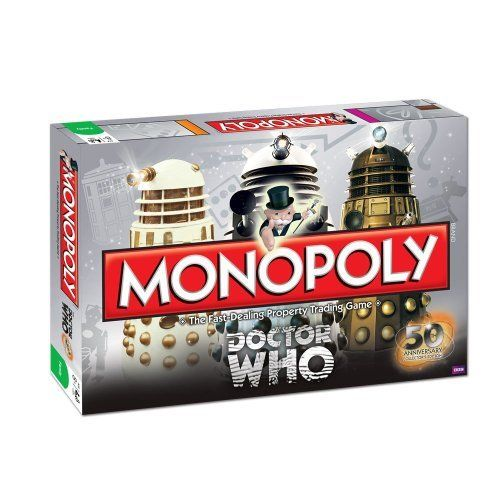 OMG WANT!!!!! Monopoly: Dr. Who Edition 50th Anniversary Collector's Edition by Monopoly, http://www.amazon.com/dp/B0087RV2KK/ref=cm_sw_r_pi_dp_Iip4qb14RQ4CE