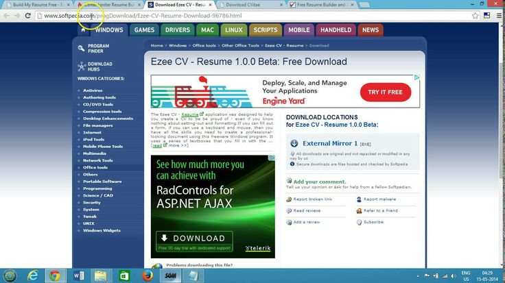 Top 5 Free Resume Builder Best Software for Windows DailyTip - resume builder software free download