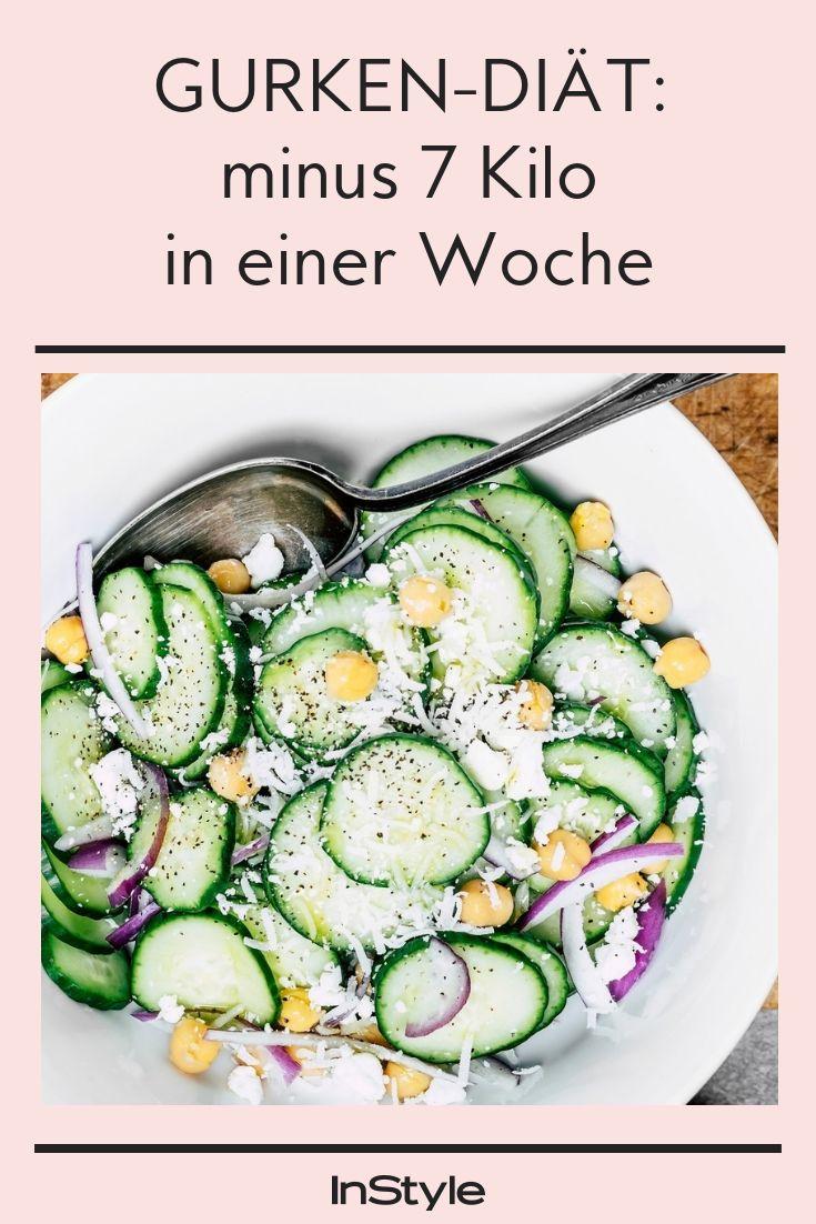 Mit der Gurken-Diät kannst du 7 Kilo in einer Woche abnehmen