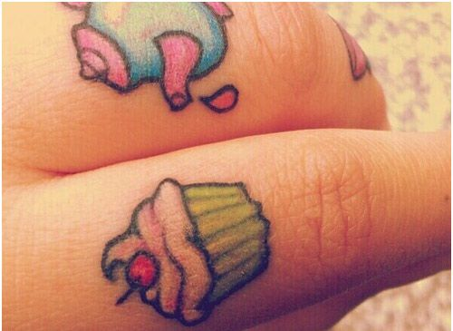 Top 10 Cupcake Tattoo Designs | StyleCraze:
