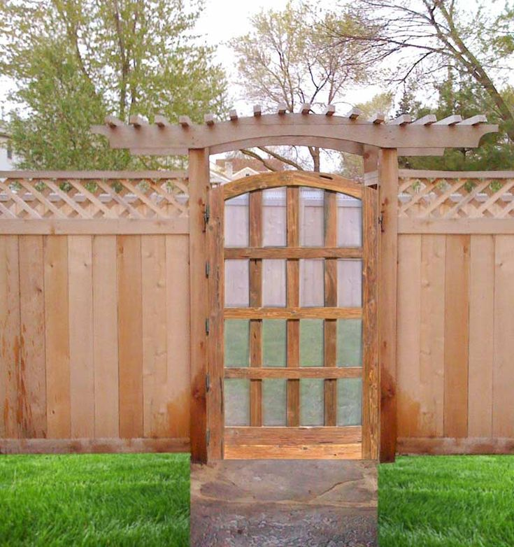27 best yard garden images on pinterest gardening for Garden gate designs wood