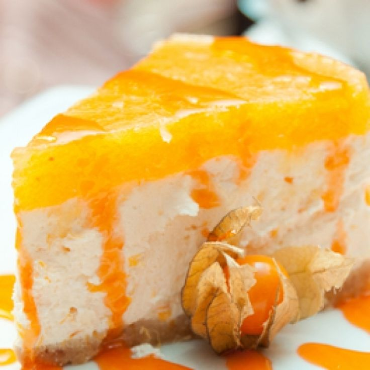 Bursting with flavor, this Tangy Orange Cheesecake recipe is a mouth watering dessert.. Tangy Orange Cheesecake  Recipe from Grandmothers Kitchen.