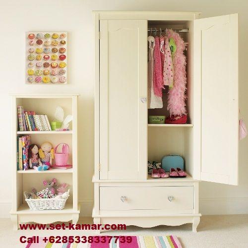 Lemari Pakaian Anak Perempuan catik Putih Bersih adalah produck dari furniture Jepara kategori Lemari Baju Anak yang sangan Berkualitas Minimalis murah