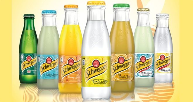 FoodBev.com | News | Refreshed Schweppes packaging for on-trade by Coca‑Cola Enterprises