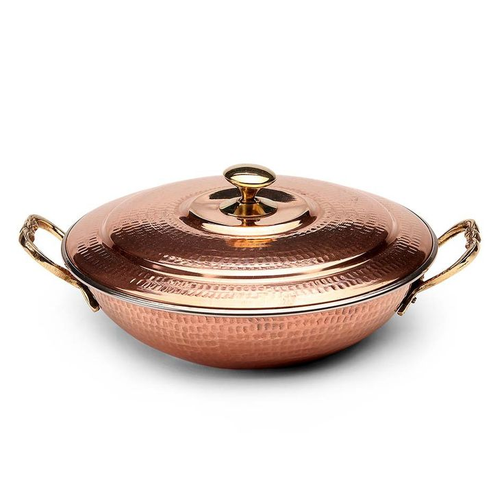 Copper and Stainless Steel Cooking Pot  - 20cm