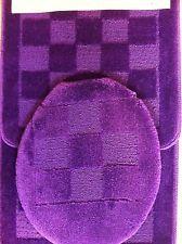 Yellow Bath Rugs and Mats | Piece PURPLE BATHROOM rug set bath rugs anti slip & contour mat lid