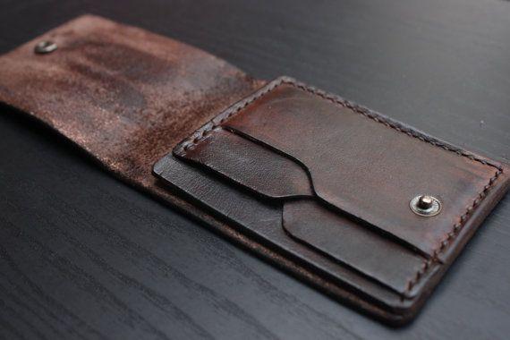 Sottile portafoglio Card Wallet portafogli in pelle
